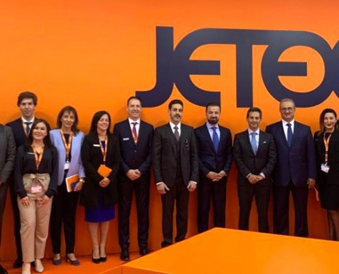 Jetex team at EBACE